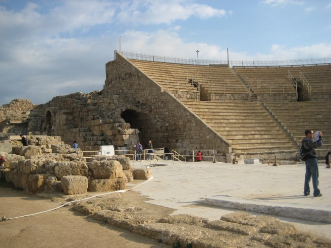 The theatre at Caesarea Maritima