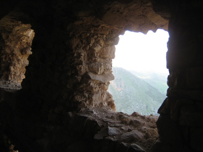 Caves in Arbel