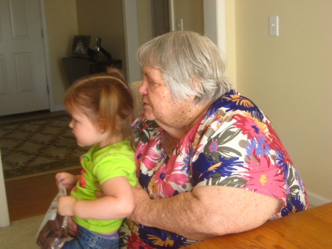Gracie reminds us of Granny