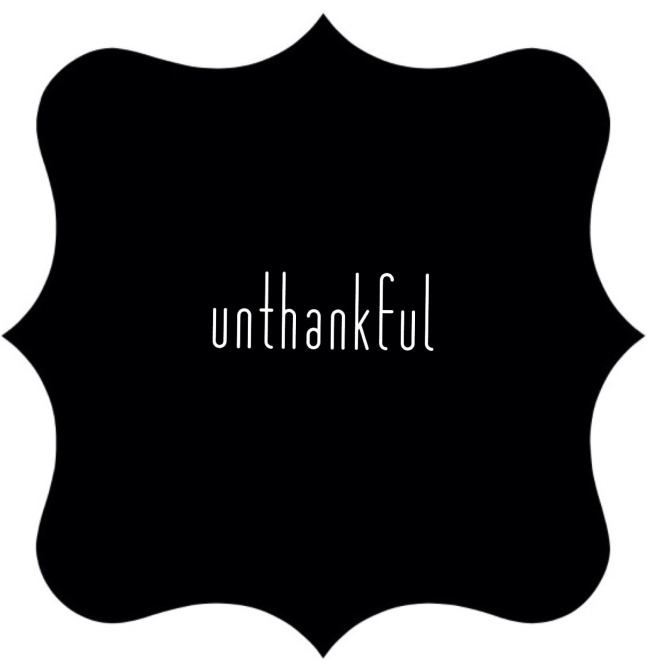 un-word of the year, unthankful