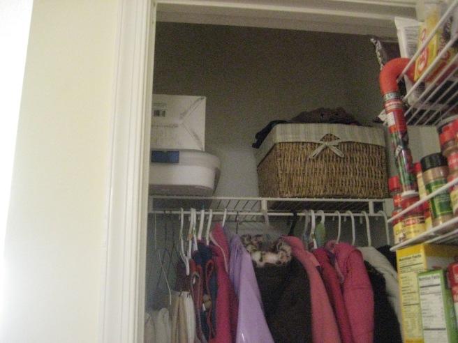 half closet, half pantry