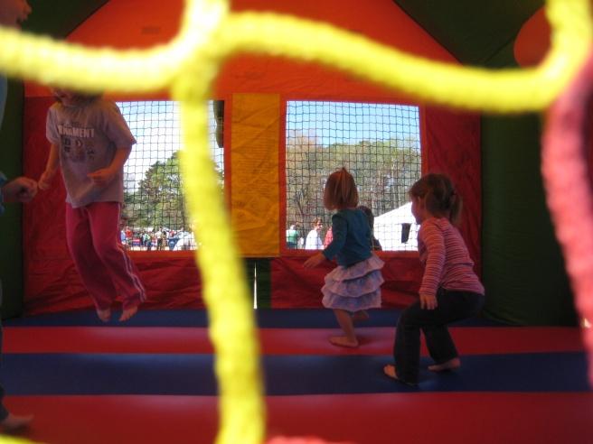 Bounce house!