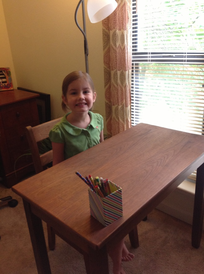 First day of K-5, September 2014