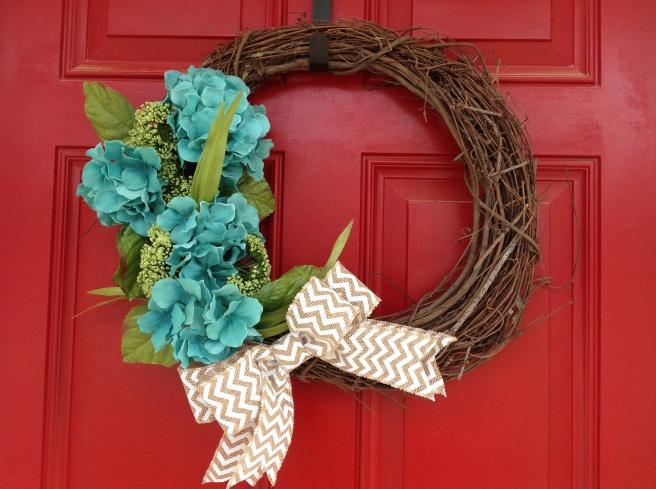 Spring wreath!