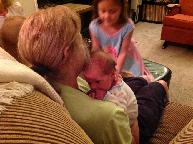 """Grammie"" in her happy place."