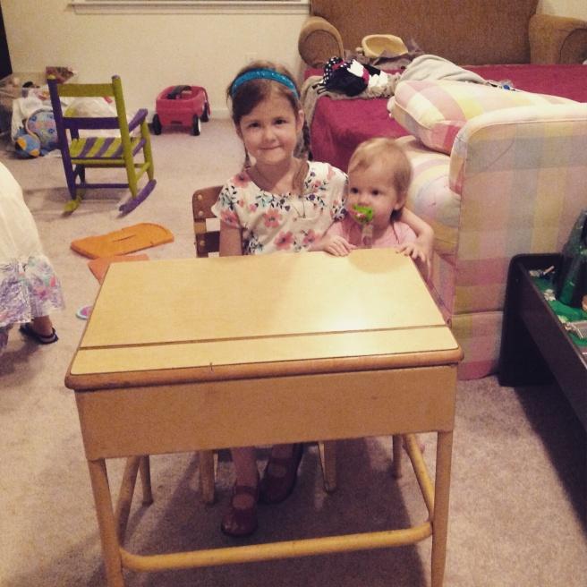 Kindergarden desk